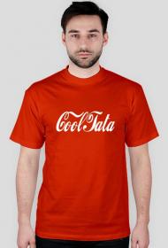 Koszulka CoolTata- koszulka dla taty w stylu CocaCola