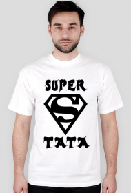 Koszulka Super Tata-  Koszulka dla taty