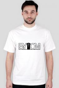 Bytom - koszulka - napis czarny