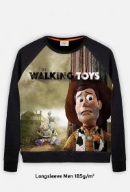 The Walking Toys Bluza Męska Full Print