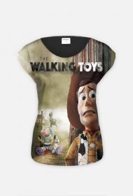 Walking Toys Koszulka Damska Full Print