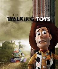 Walking Toys Bluza Męska Full Print Heavy