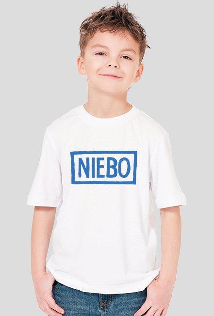 T-shirt chłopięcy NIEBO