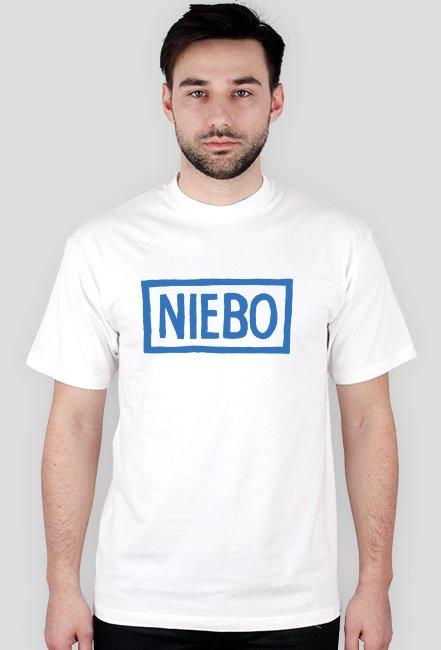 T-shirt męski NIEBO