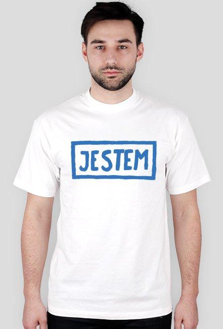 T-shirt męski JESTEM