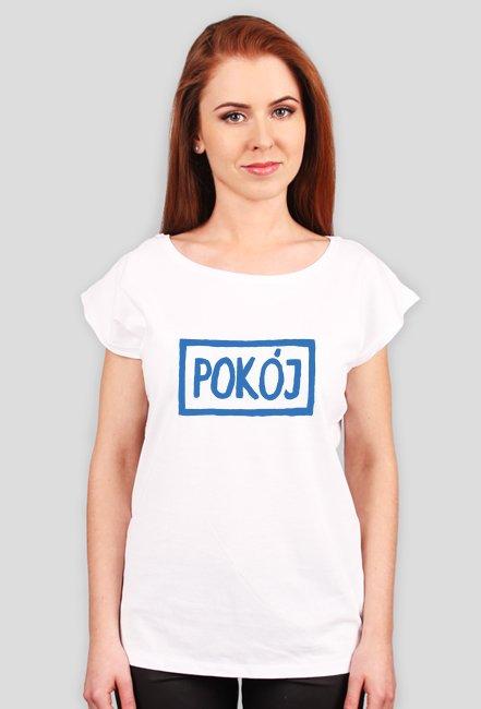 T-shirt damski POKÓJ