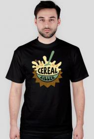 Cereal Killer - zabawna koszulka z nadrukiem