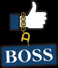 Śmieszna koszulka - prezent dla szefowej | Like a Boss