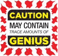 Caution May Contain Trace Amounts of Genius | Koszulka dla szachistki