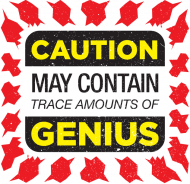 Caution May Contain Trace Amounts of Genius | Koszulka dla szachisty