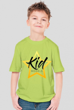 Koszulka Kidmodels Biała Dziecięca ON