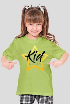 Koszulka Kidmodels Biała Dziecięca ONA