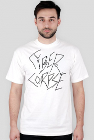 CYBERCORPSE LOGO T-SHIRT [WHITE]