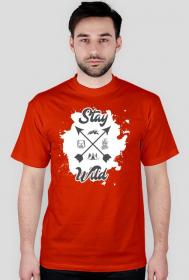 Koszulka męska Stay wild
