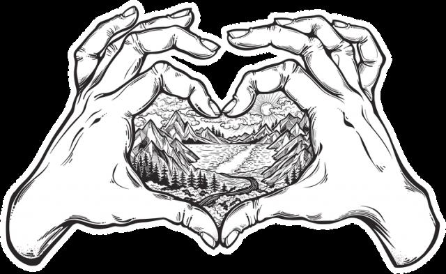 Męska bluza Kocham góry