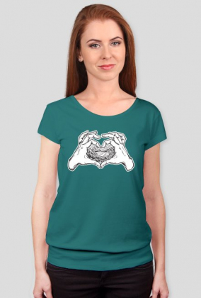 Koszulka damska Kocham góry