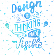 WO. T-Shirt - Thinking Made Visible - Graphic Designer
