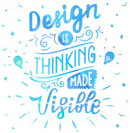 WO. Cup - Thinking made visible - Graphic Designer colo