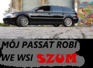 Kabaret Czwarta Fala Passat bez dymu kół - kubek