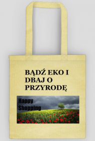 Bądź eko - torba bawełniana