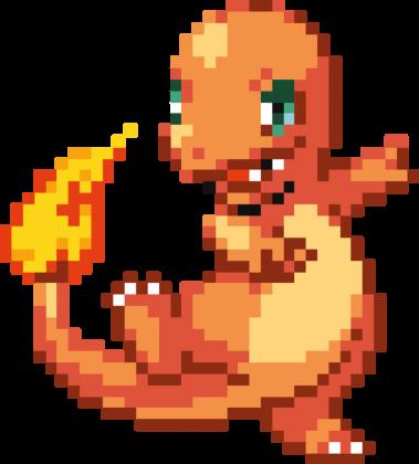 Charmander Pixel art