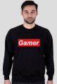 Gamer bluza bez kaptura