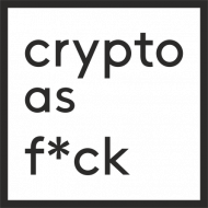 Koszulka męska - Crypto as f*ck