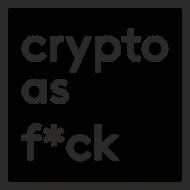 Bluza męska z kapturem - Crypto as F*ck
