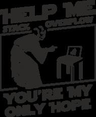 Koszulka męska - Help me stack overflow