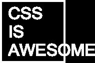 Koszulka damska dobra na prezent dla informatyka/programisty pod choinkę, na urodziny, na mikołajki - CSS is Awesome