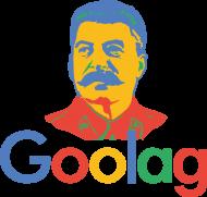 Bluza męska bez kaptura dobra na śmieszny i ciekawy prezent dla programisty, informatyka - Goolag, Gułag, Stalin (Google)