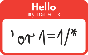 koszulka męska polo prezent dla informatyka programisty na mikołajki pod choinkę, na urodziny - hello my name is 'or 1=1