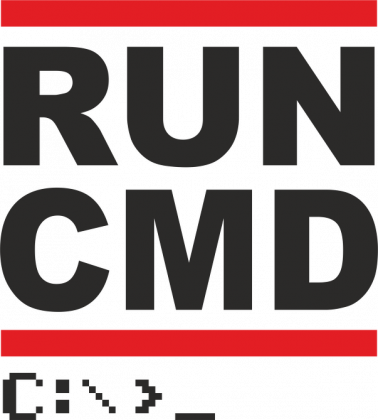 Bluza z kapturem prezent dla informatyka programisty na mikołajki pod choinkę, na urodziny - Run CMD