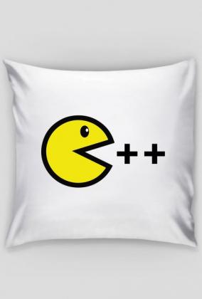 Poduszka nietuzinkowy pomysł na ciekawy i tani prezent dla chłopaka, dziewczyny programisty - C ++ Pacman