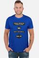 Koszulka męska prezent dla informatyka programisty na mikołajki pod choinkę, na urodziny  - Should i deploy?