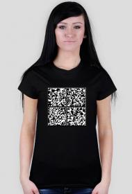 QR - koszulka damska