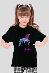 Flawless - koszulka dziewczęca czarna