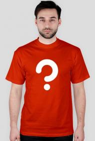 Zagadka - koszulka męska czerwona
