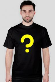 Zagadka - koszulka męska czarna