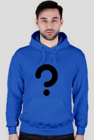 Zagadka - bluza męska niebieska