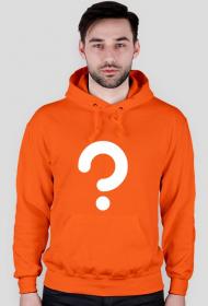 Zagadka - bluza męska pomarańczowa