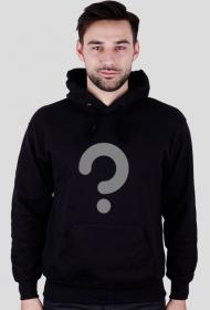 Zagadka - bluza męska czarna