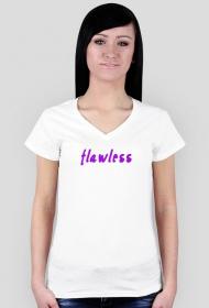 Flawless - koszulka damska biała