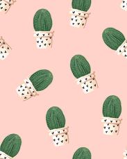 Kaktusy - kubek