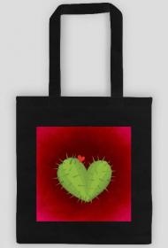 KaktuSerce - torba czarna