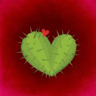KaktuSerce - torba biała