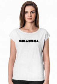 Siłaczka - koszulka damska