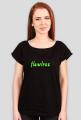Flawless - koszulka czarna tekst