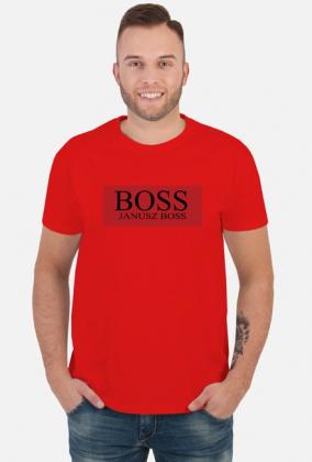 Janusz Boss - Red/Black