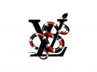 Maseczka Louis Vuitton Snake